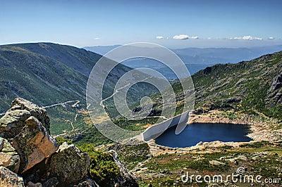 Dam Covao in Serra da Estrela, Portugal
