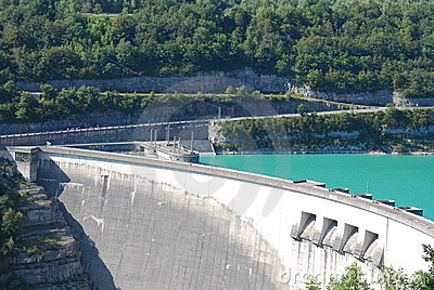 Dam in france