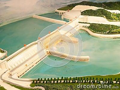 Dam model