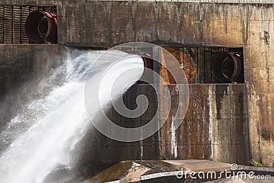 Dam Sleuth Gates Water