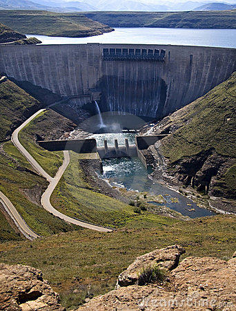 Free Dam Wall Royalty Free Stock Image - 14850096