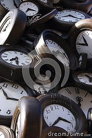 Damaged clocks