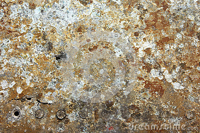 Damaged & rusted metal panels texture fromYak-9