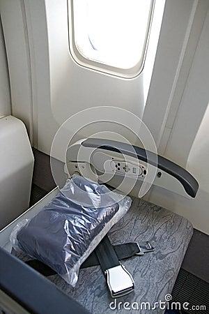 Damaged seat