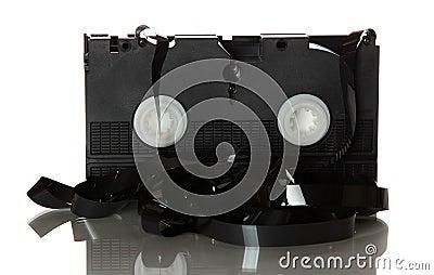 Damaged videotape