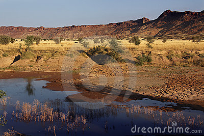 Damaraland near Twyfelfontain - Namibia