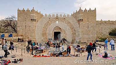 Damascus Gate Editorial Image