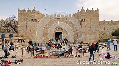 Damascus Gate Editorial Image