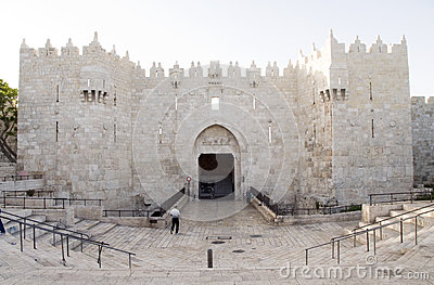Damascus Gate City Jerusalem Palestine Israel