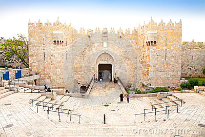 Damascus gate,  Jerusalem, Israel