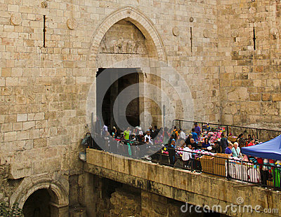 Damascus Gates Editorial Photography