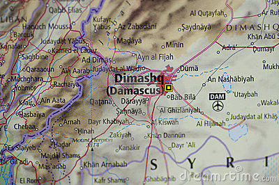 Damascus Map