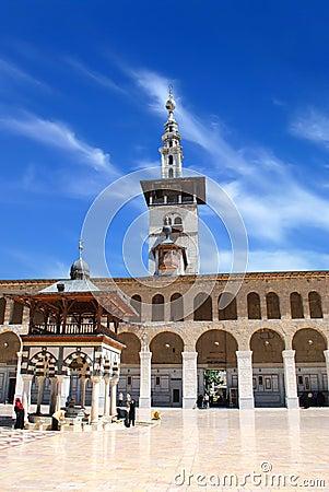 Damascus mosque