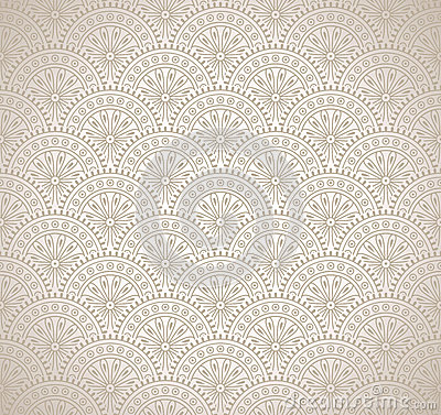 Damask luxurious wallpaper