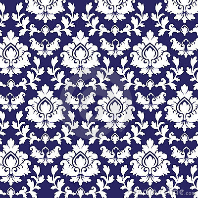 Free Damask Pattern Royalty Free Stock Photo - 16184075