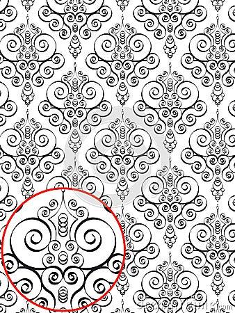 Damask Style Pattern