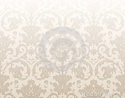 Damask traditional wallpaper