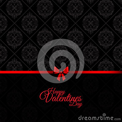 Damask Valentines Day background