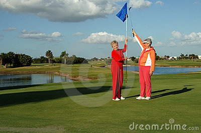 Dame Golfers viert