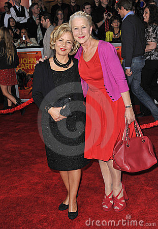 Dame Helen Mirren Editorial Image