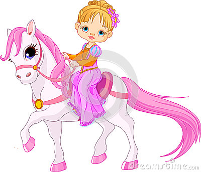 Dame op paard