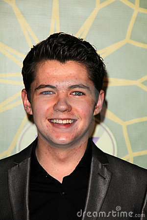 Damian McGinty at the FOX All-Star Party, Castle Green, Pasadena, CA 01-08-12 Editorial Photography