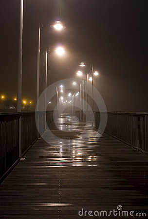 Damp Riverwalk