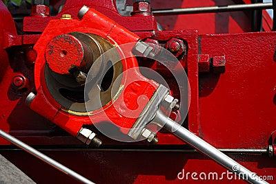 Dampf Motor Kurbel Stockbilder Bild 23257854