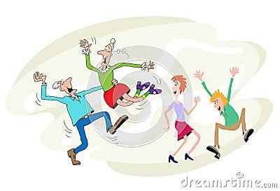 Dança das pessoas idosas