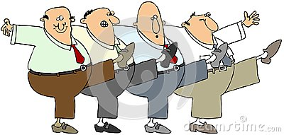 Dança dos homens idosos