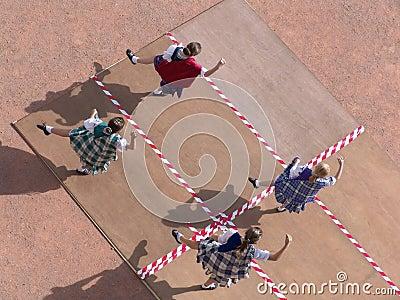 Dançarinos escoceses