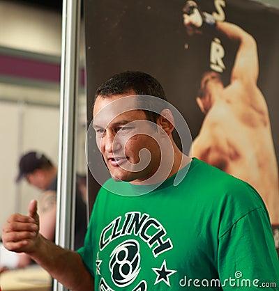 Dan Henderson- Strikeforce MMA fighter Editorial Stock Photo