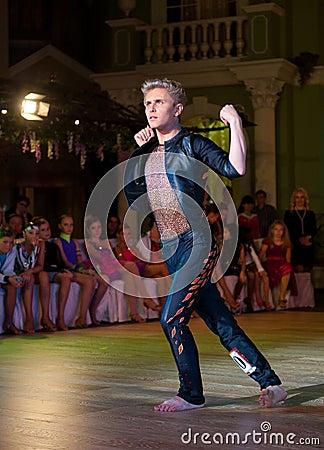 A dança artística concede 2012-2013 Imagem Editorial