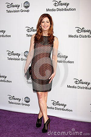 Dana Delany arrives at the ABC / Disney International Upfronts Editorial Photo