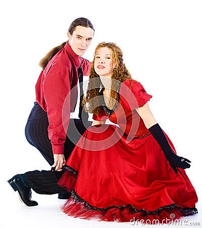 Dançarinos da Dança-voogie