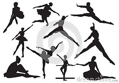 Dance of ballet