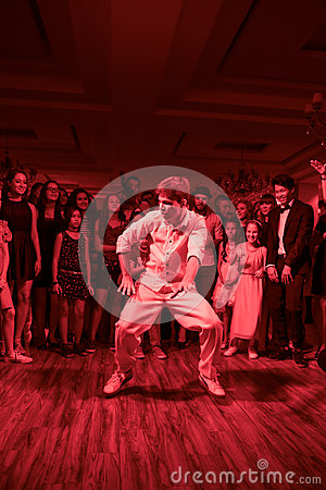 Free Dance Battle Stock Image - 85744311