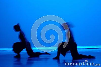 Dance in Blue