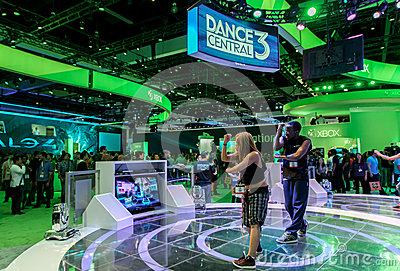 Dance Central 3 for Kinect at E3 2012 Editorial Image