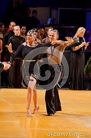 Dance couple Editorial Image