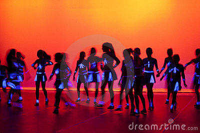 Dance Dancing Stage Background Editorial Photography