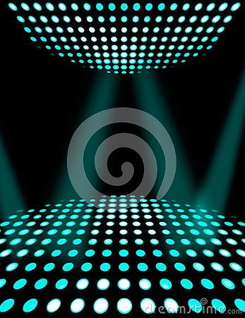 Dance floor disco poster background