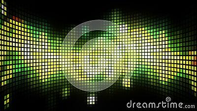 Dance Music Light Box Background Stock Video Video Of