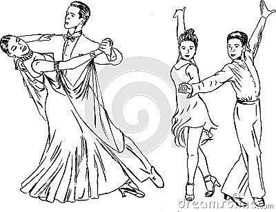 Dance pairs