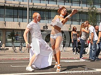 Dance Parade Editorial Image