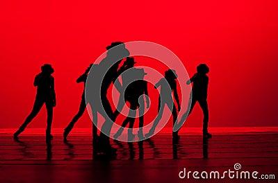 Dance in Silhoutte