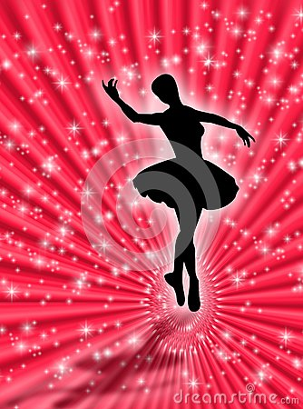 Dance In The Stars Royalty Free Stock Images - Image: 5091709
