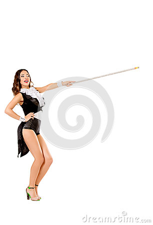 Dance with stick