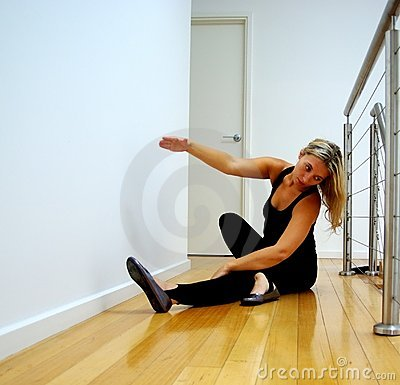 Free Dance Stretching & Practise Stock Photo - 4845830