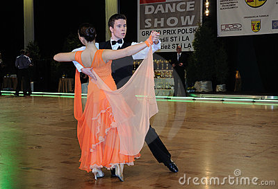 Dance Tournament Editorial Stock Photo